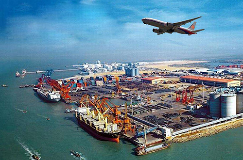 Air and sea freight forwarders