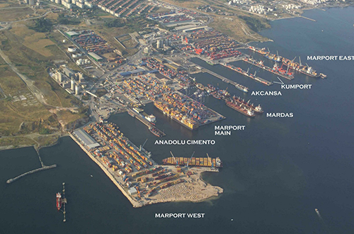Distribution of Istanbul Docks